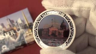 видео Памятная монета 5 рублей 1989 года с изображением собора Покрова на рву в Москве