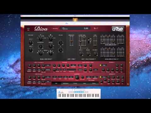 U he diva virtual analog synthesizer youtube - U he diva ...