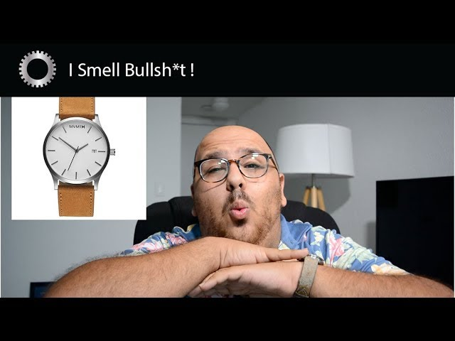 This youtuber is trashtalking Gorilla Watches, Vehicle VIrgins, and The Smoking Tire. Bullsh*t Watch Sponsorships and YouTubers - JOIN THE MVMT! (yeah right)