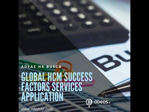 GLOBAL HCM SUCCESS FACTORS SERVICES APPLICATION CONSULTANT
