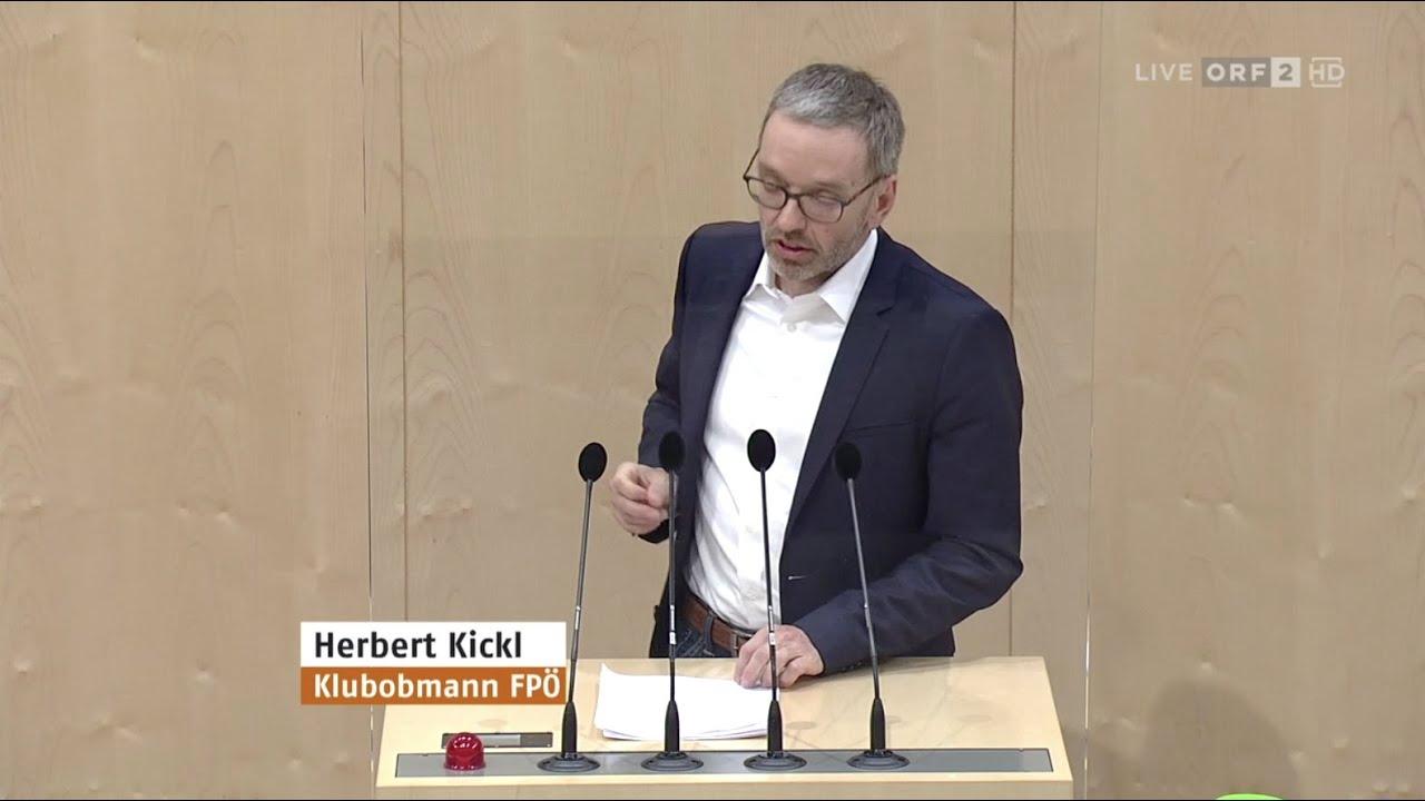 Herbert Kickl - Grüner Pass - 26.5.2021