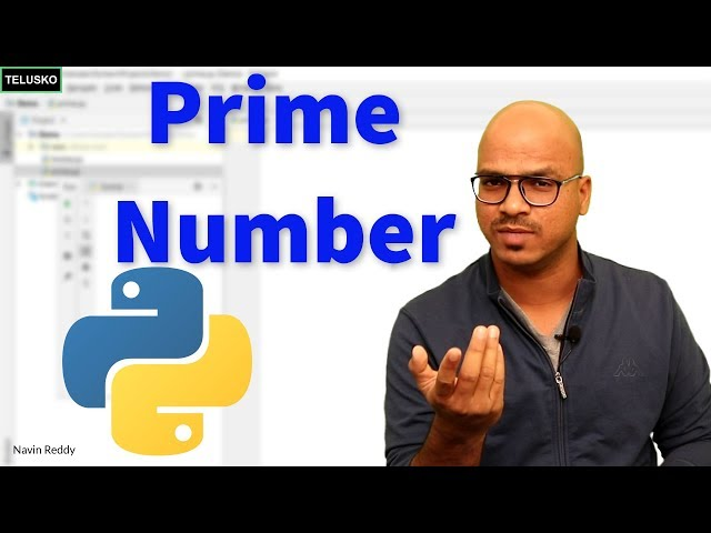 #25 Python Tutorial for Beginners | Prime Number in Python