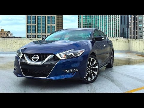 2016 Nissan Maxima FIRST DRIVE REVIEW