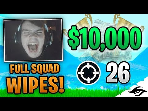 Mongraal | MY BEST WIN EVER! $10K TOURNAMENT! (Fortnite Battle Royale Solo vs Squads)