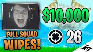 Mongraal | MY BEST WIN EVER! $10K TOURNAMENT! (Fortnite Battle Royale Solo vs Squads)