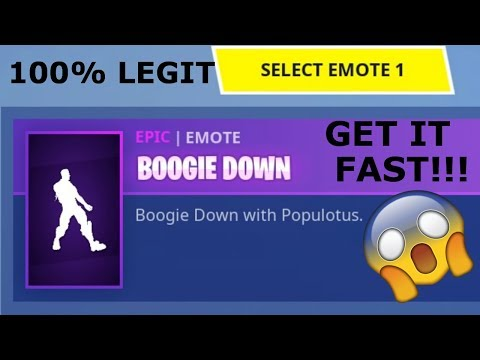 How To Get BOOGIE DOWN Emote In Fortnite (FULL GUIDE)