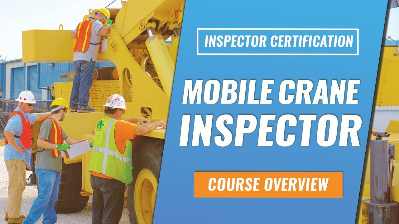 Mobile Crane Inspector Training