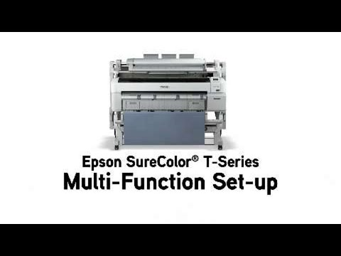 Epson SureColor T-Series MFP Scanner for T7270 and T7270D, Model SCT36SCAN,  with Stand and HDD