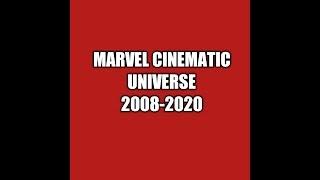 MARVEL MOVIES (MCU) 2008-2020