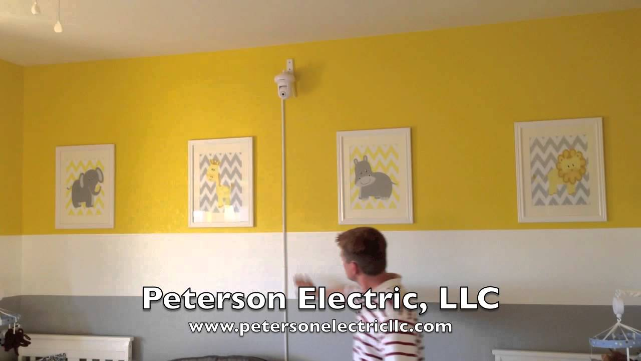 Video Baby Monitor System, Installed Wire Mold To Cover Wires - YouTube
