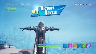 """*NEW* WHITE """"ICE KING"""" SKIN GAMEPLAY in Late Night DUOS (TIER 100 OUTFIT)   Fortnite SEASON 7"""