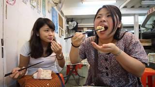 台灣臭豆腐????????日本美女????????去九份吃臭豆腐!反應是怎麼樣!女子大学生が臭豆腐を食べてみた!#34