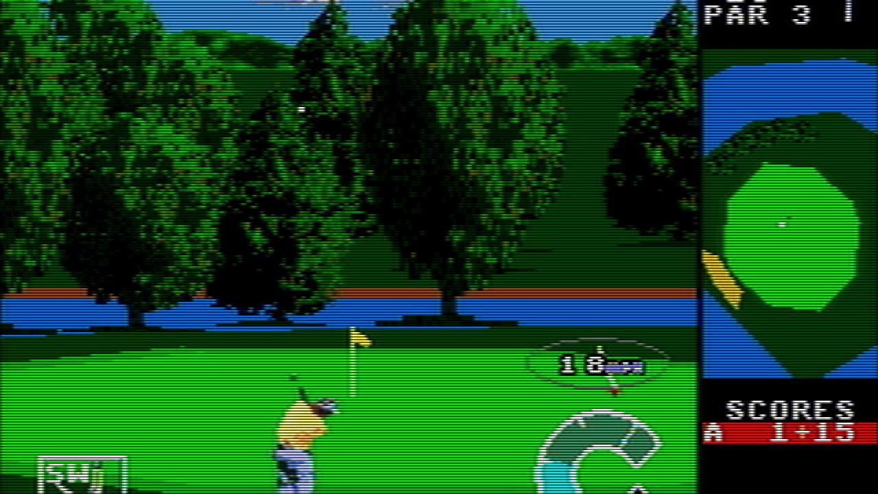 World Class Leaderboard Golf (Genesis)
