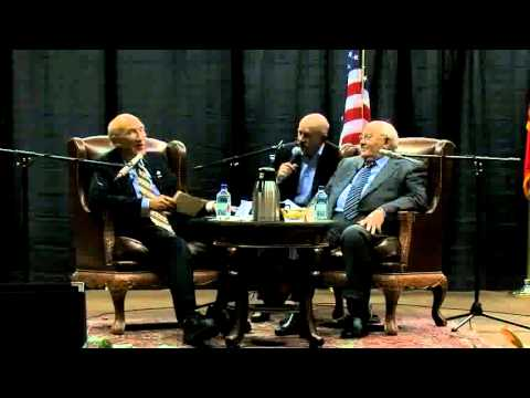 Gorbachev's Q&A with Alan Simpson at University of Wyoming, October 2011