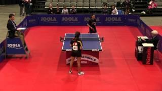 Junior Girls Team SF - Match 1: Angela Guan vs. Prachi Jha - 2012 US National Championships