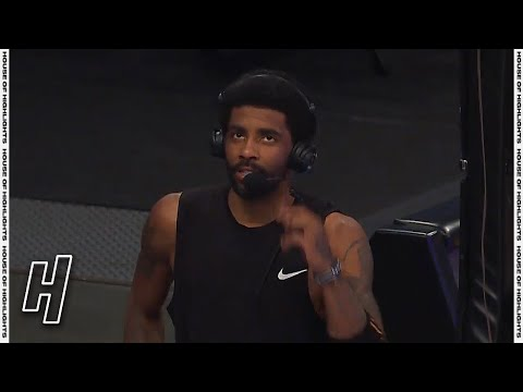 Kyrie Irving Apologizes to Nets Fans, Postgame Interview - Knicks vs Nets | April 5, 2021