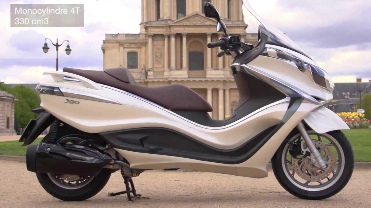 Club 14 Scooter - Essai Piaggio X10 - YouTube