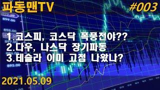 파동맨TV #003. 코스피 큰 변곡점 임박??