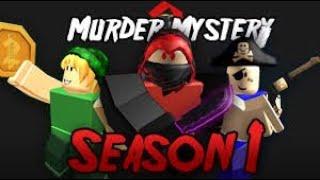 The killer killed me! Murder Mistery ROBLOX