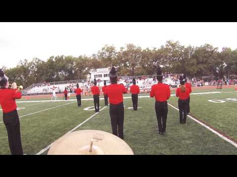 Glen Rock High School Band vs. Waldwick/Midland Park 2014