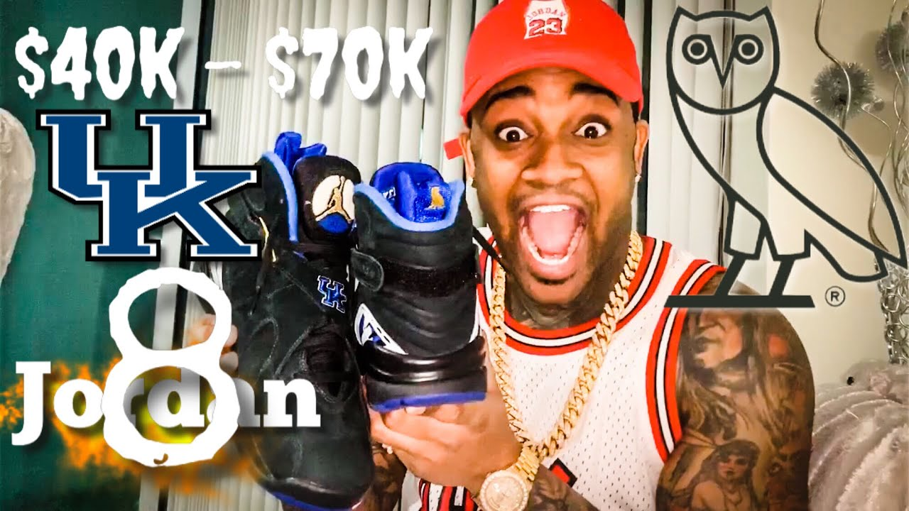 First sneaker review Drake Kentucky