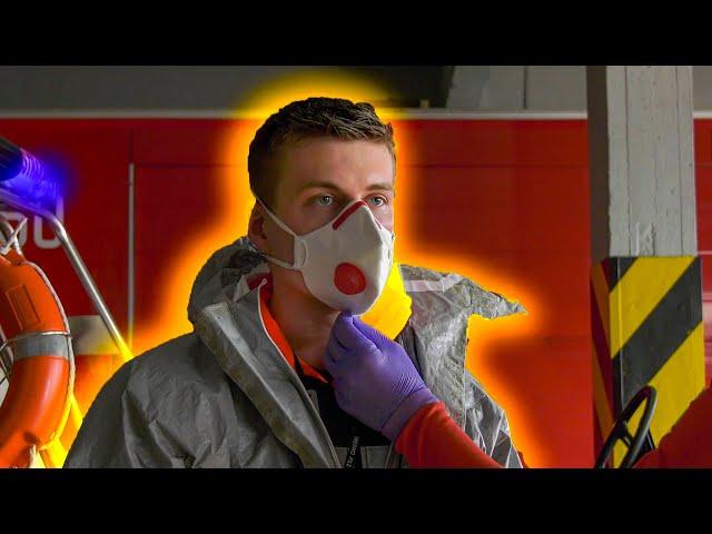 JAK POPRAWNIE ZAŁOŻYĆ I ZDJĄĆ UBRANIE CHEMOODPORNE I MASECZKĘ FP3 [TYCHEM - PORADNIK]