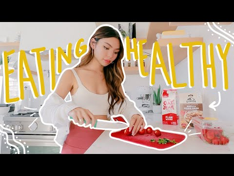 a *HEALTHY* what i eat in a day!