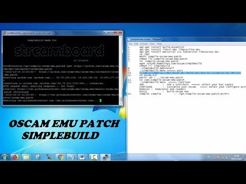 How To Install and Update Oscam Emu Patch With Hash Mode Latest Version