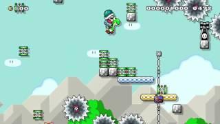 Super Mario Maker: Rube Goldberg Machine...don't move