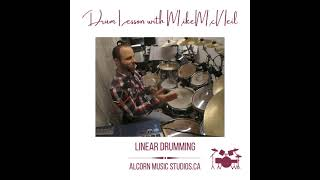 Mike McNeil - Linear Drumming