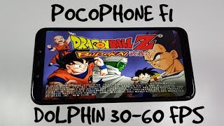 Pocophone F1 Dolphin gaming test/Gamecube Games/Snapdragon 845/Vulkan 30-60 FPS