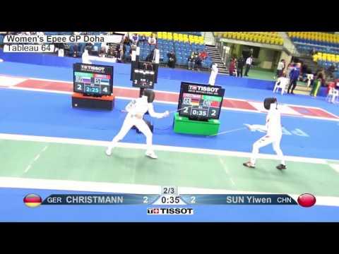 FE W E Individual Doha QAT Grand Prix 2016 T64 09 green SUN CHN vs CHRISTMANN GER