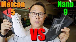 Metcon 5 vs Nano 9