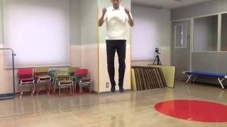 小学校受験のための運動。 今回は《両足ジャンプ》です。 両足ジャンプ...