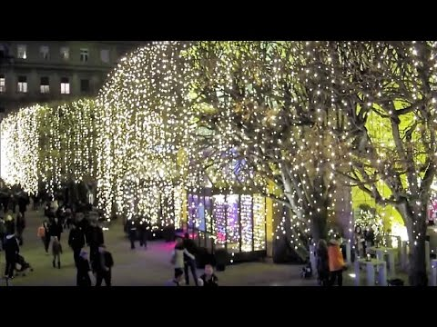 Merry Christmas and Happy New Year 2018 Zagreb Croatia - Advent Best Christmas Market 2016 - 2017