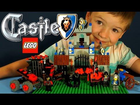 Конструктор Lego Castle 70401, 70402 обзор на русском языке  Мультики из Игры. Koka Tube