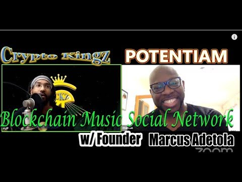 Crypto Kingz Ep. 57 Interview ft Marcus Adetola | The Blockchain Music Social Network