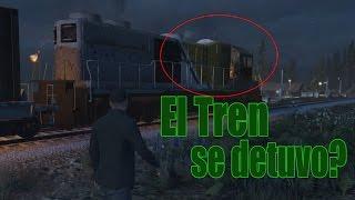 Como parar el tren GTA V || KGTAM