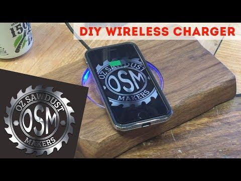 DIY Wireless Charger - Custom - Smartphone - Handmade - Qi -