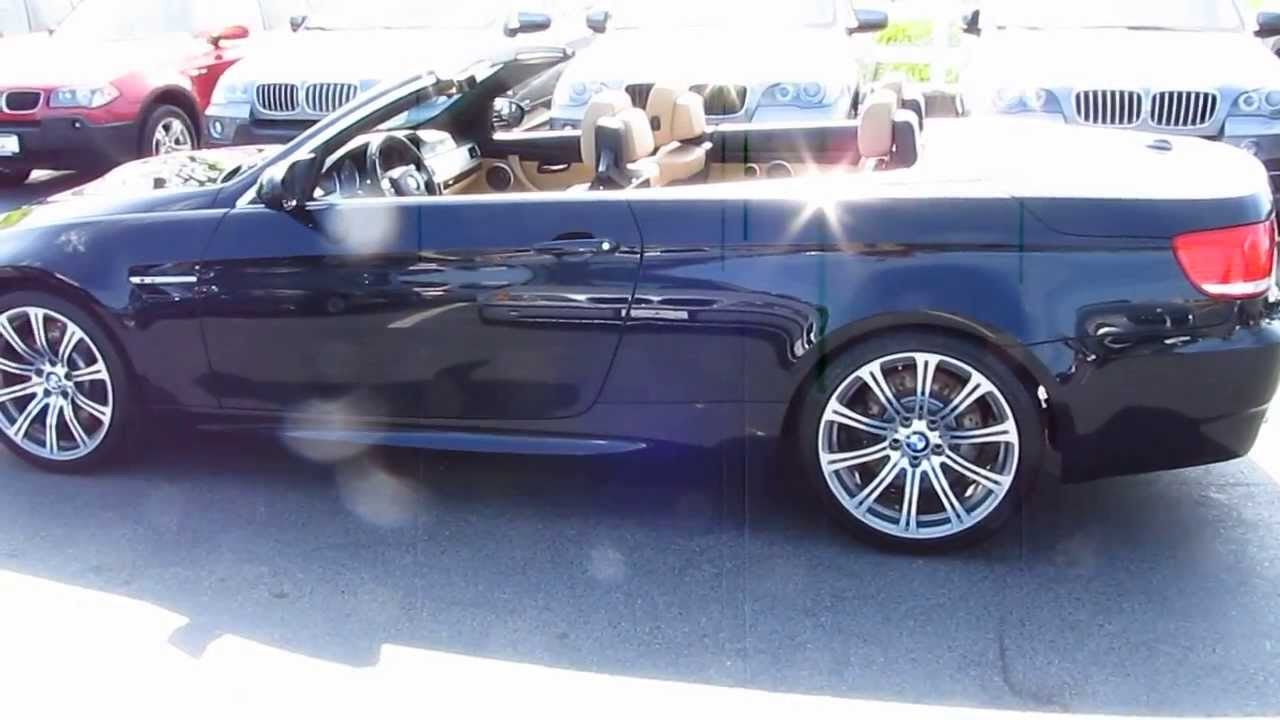 2009 BMW M3 Convertible 6 Speed  Manheim Imports  YouTube