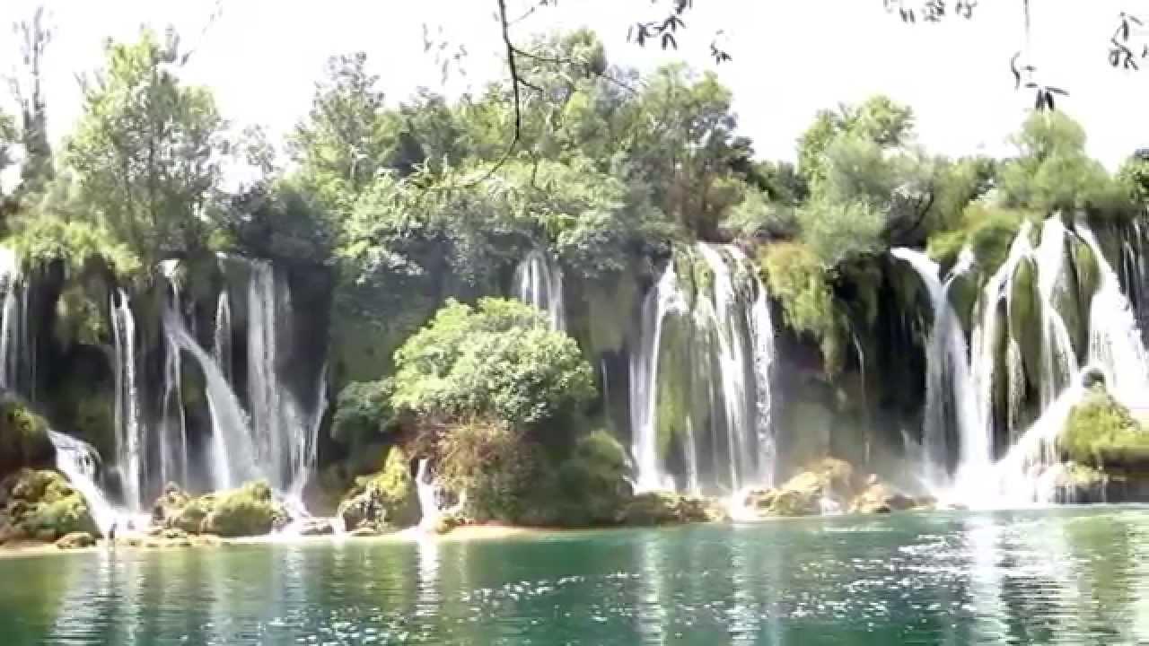 Vodopad Kravice (Waterfall) - YouTube