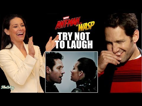 AntMan and The Wasp Bloopers and Funny Moments  Try Not To Laugh 2018