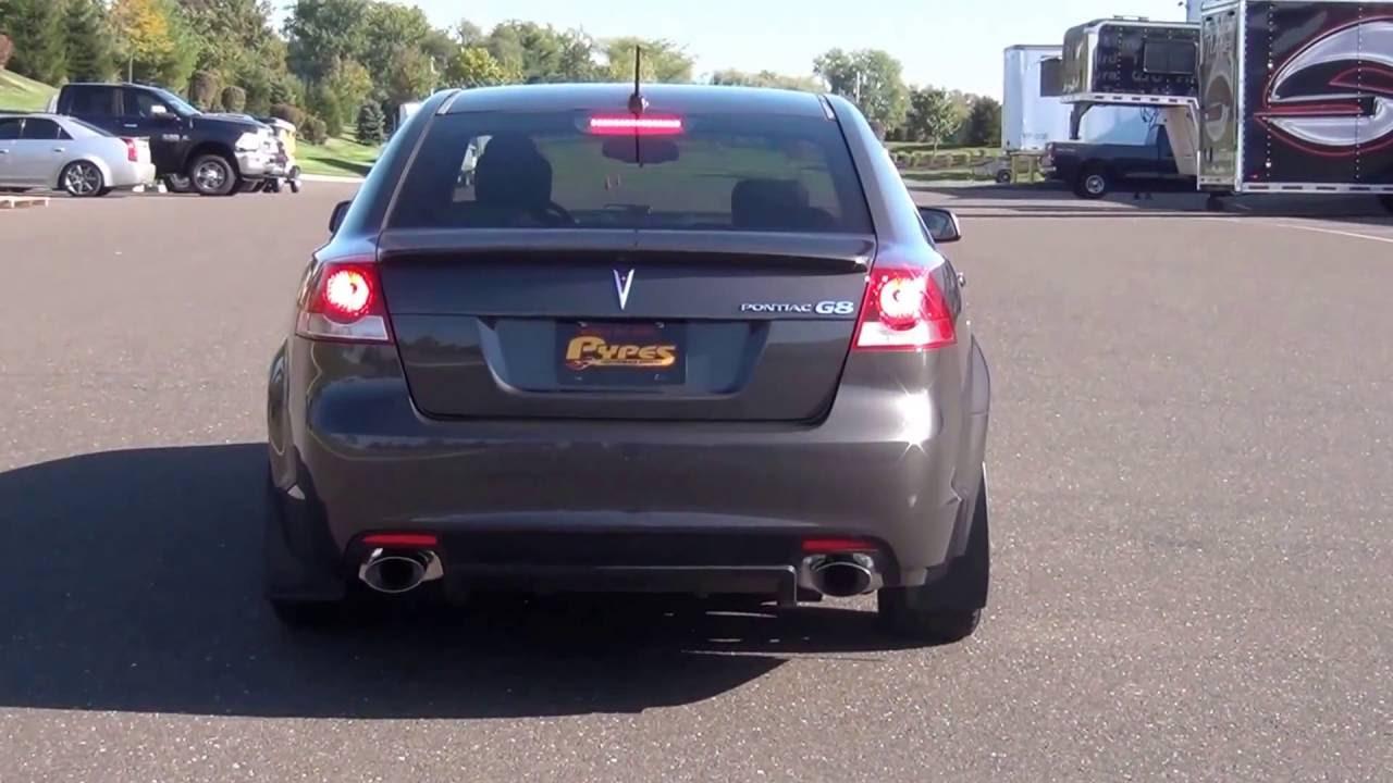 2008 pontiac g8 v6 exhaust