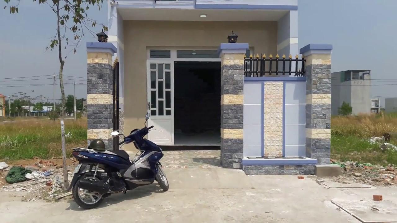 Nhà 1 trệt 1 lầu khu tái định cư Tân Kim – 0933.32.35.33