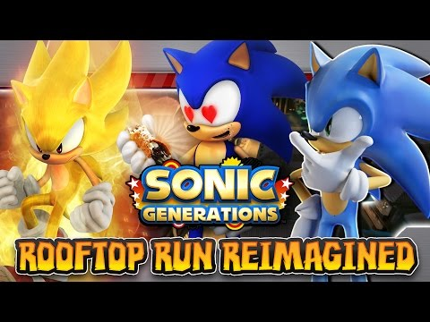 Sonic Generations Mod - Sonic 06 Character Mod & Rooftop Run Reimagined Level Mod