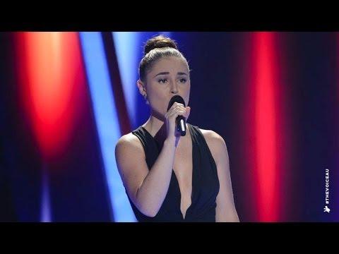 Megan Longhurst Sings Don't Cry Out Loud | The Voice Australia 2014