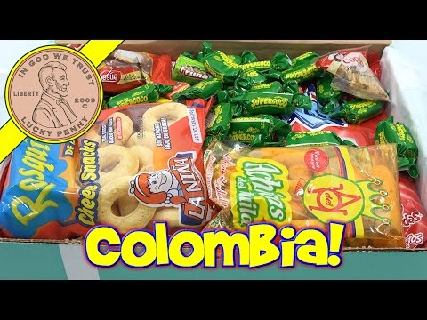 Colombia Candy & Snack Box Try Treats Monthly Subscription