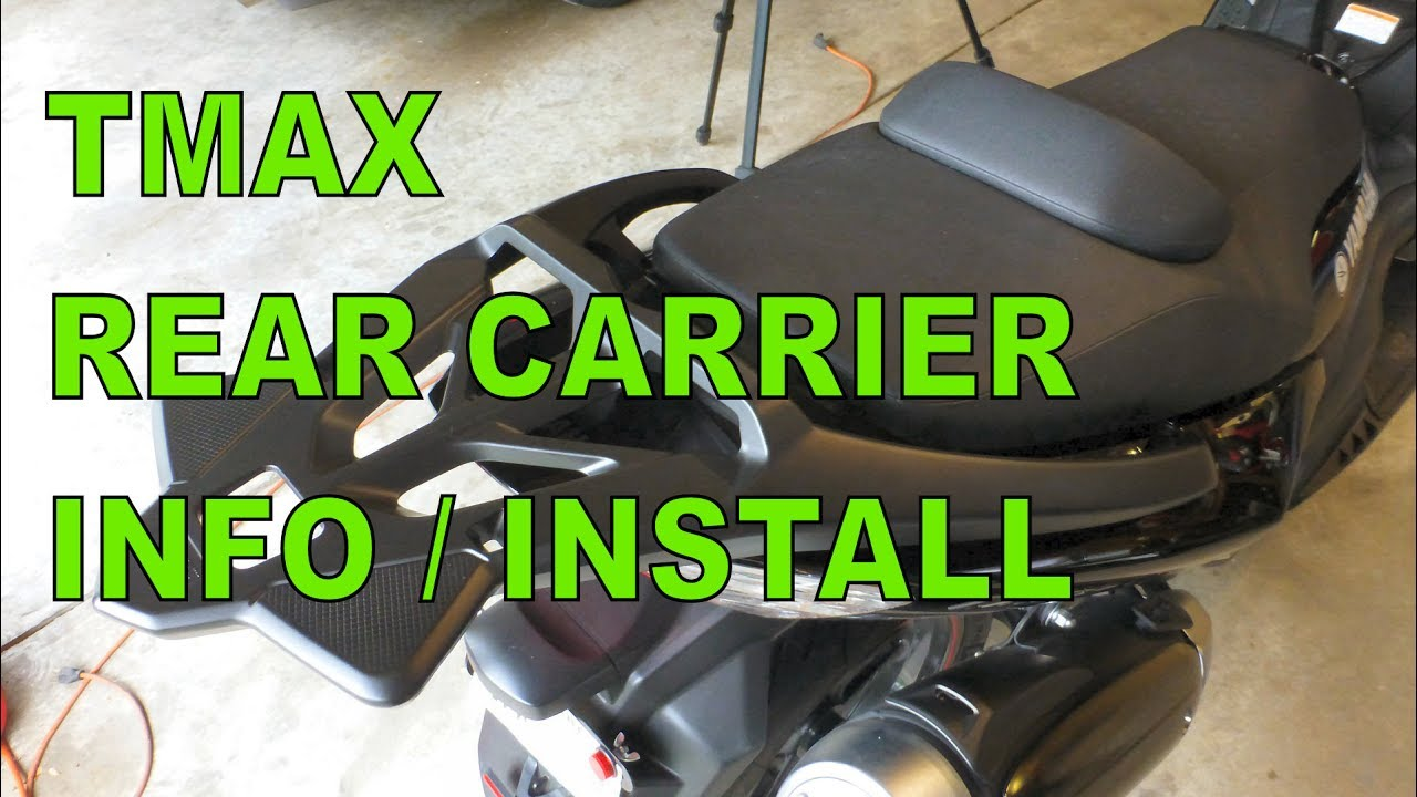 Yamaha Tmax Rear Carrier Rack Installation And Information