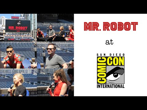 SDCC 2016 // Mr. Robot offsite and at Petco Park