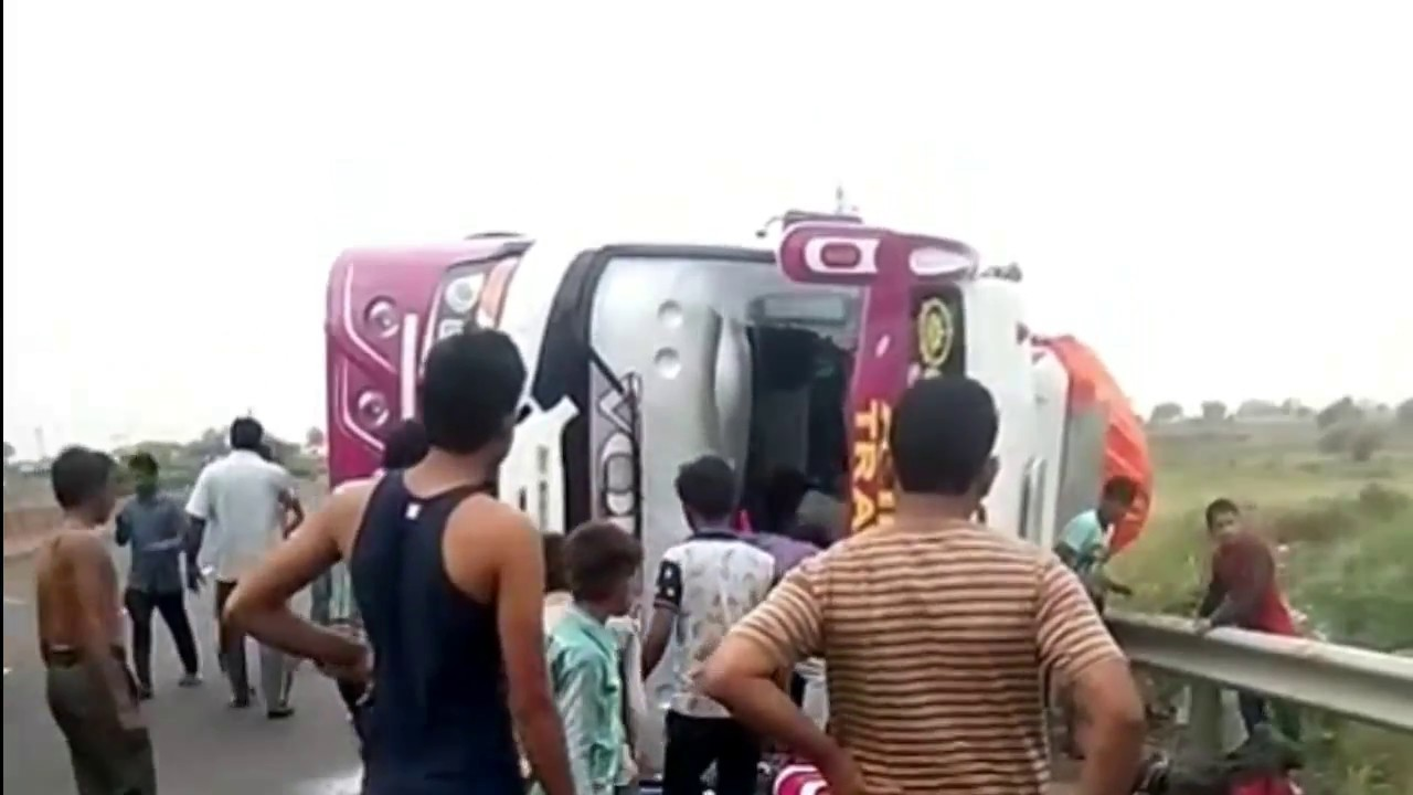 VOLVO Bus accident at west bengal